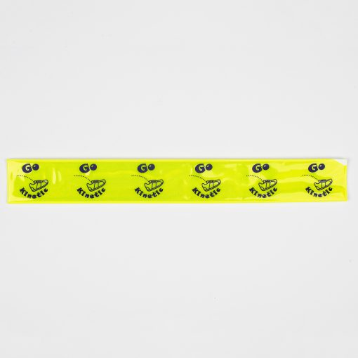 custom printed snapband yellow