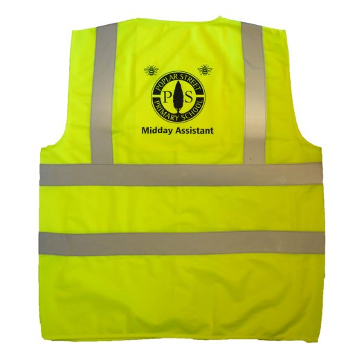 high vis waistcoat for adult