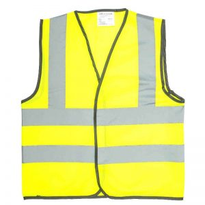 child waistcoat yellow 800 40pc
