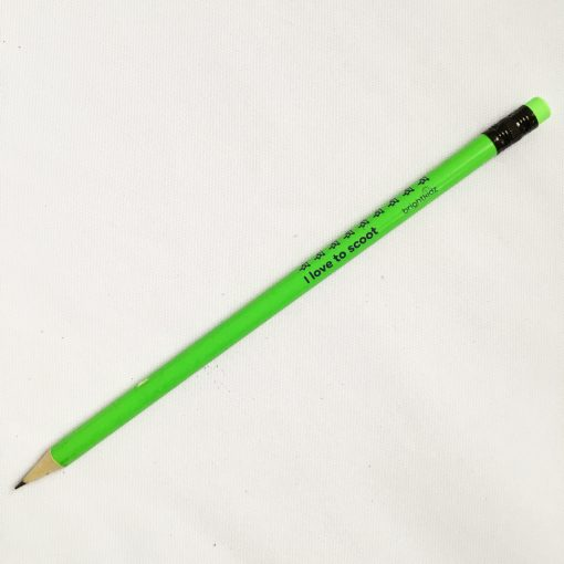 green pencil scoot design