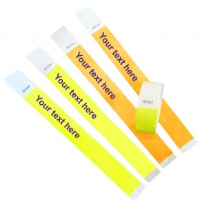 single use wristbands