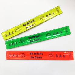 reflective snapband be bright be seen design