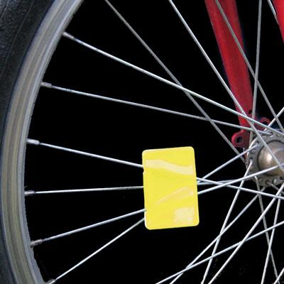 spoke reflector on bike