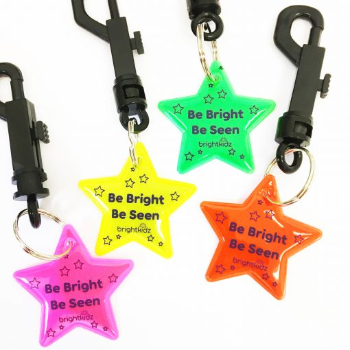 reflective stars all colours