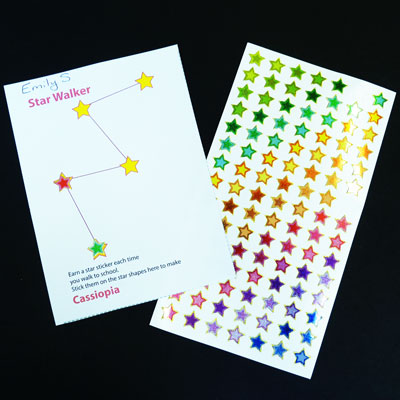 star walkers constellation charts