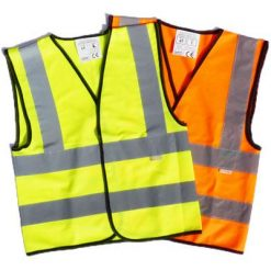 high vis waistcoats for children