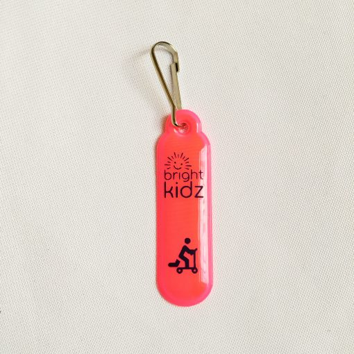 pink reflective zip clip scoot