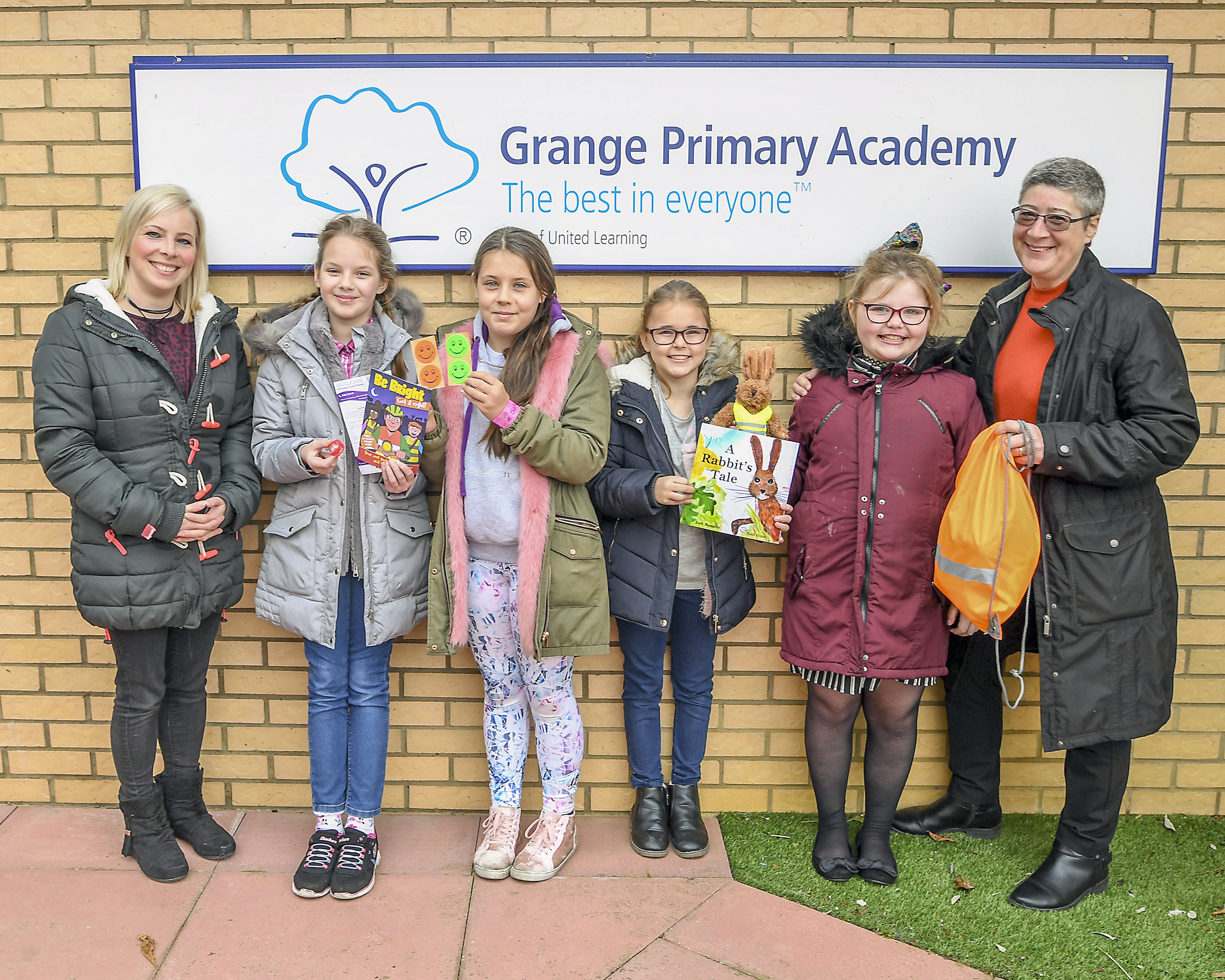 AJ Wills sponsors road safety at local school