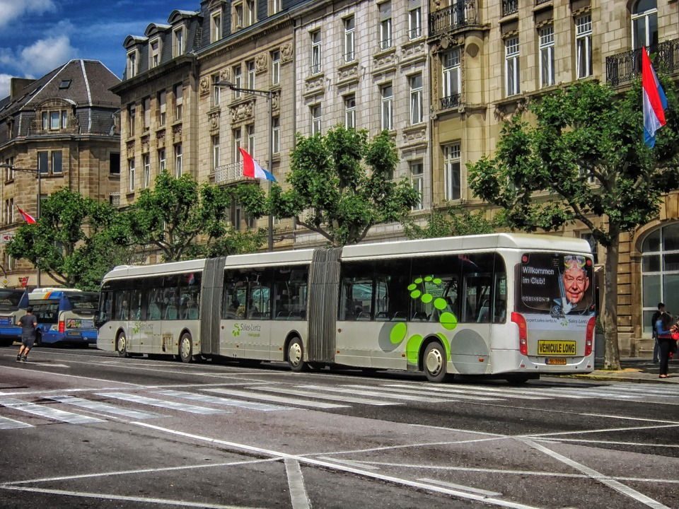 Free bus travel in Luxembourg