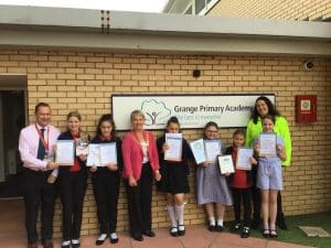 Grange Primary receive Modeshift bronze