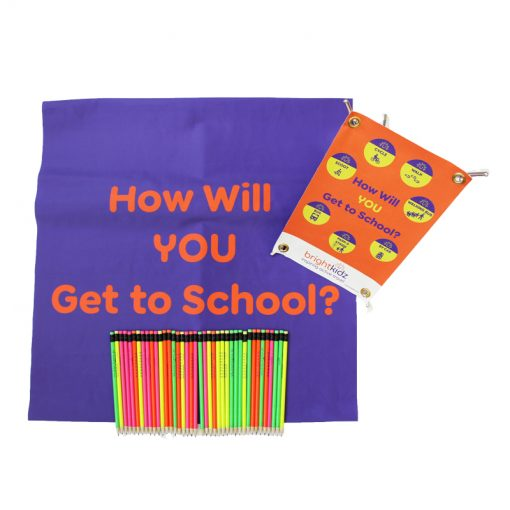 How Will You Get to School Pack Contents