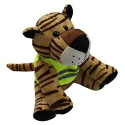 high vis tiger mascot