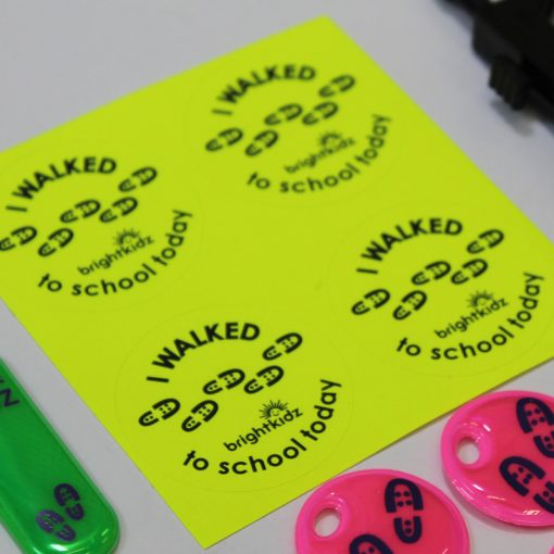 stickers in walk individual pack