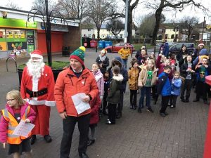 Santa Walk to Grange Primary Academy