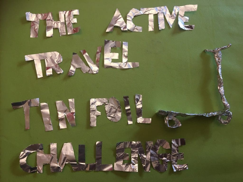 active travel tin foil challenge