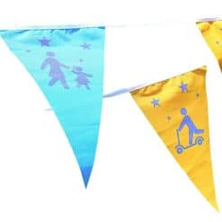 active travel bunting