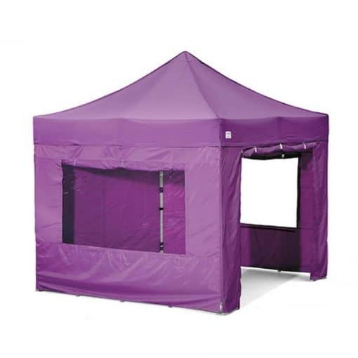 purple gazebo