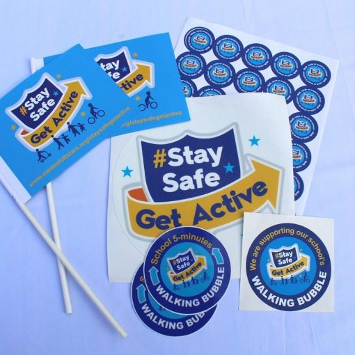 stay safe get active resources