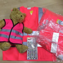 pink waistcoats with teddy