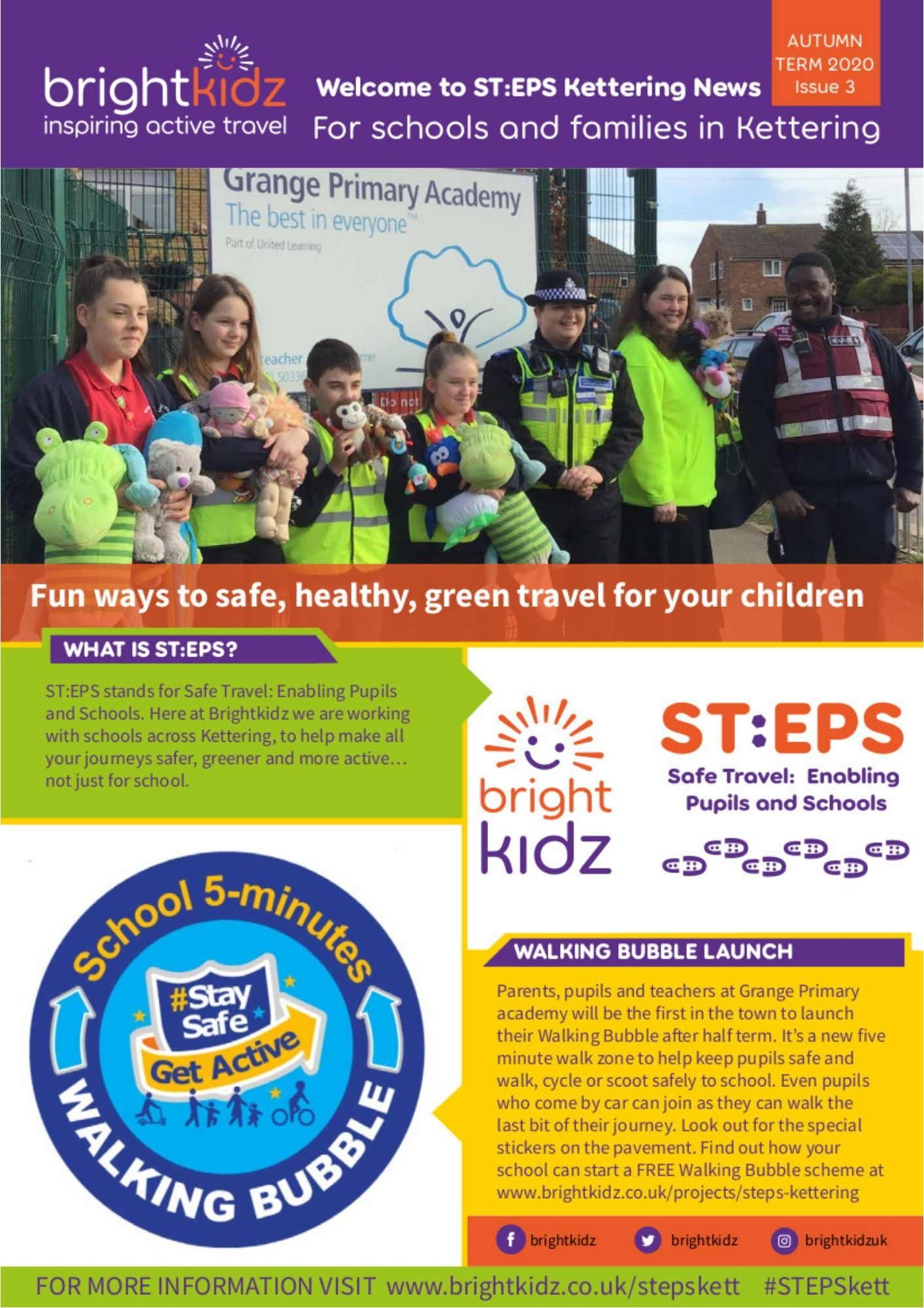 STEPS Kettering page 1 autumn 2020