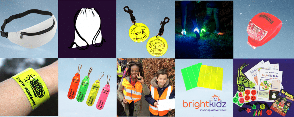 montage of Brightkidz products