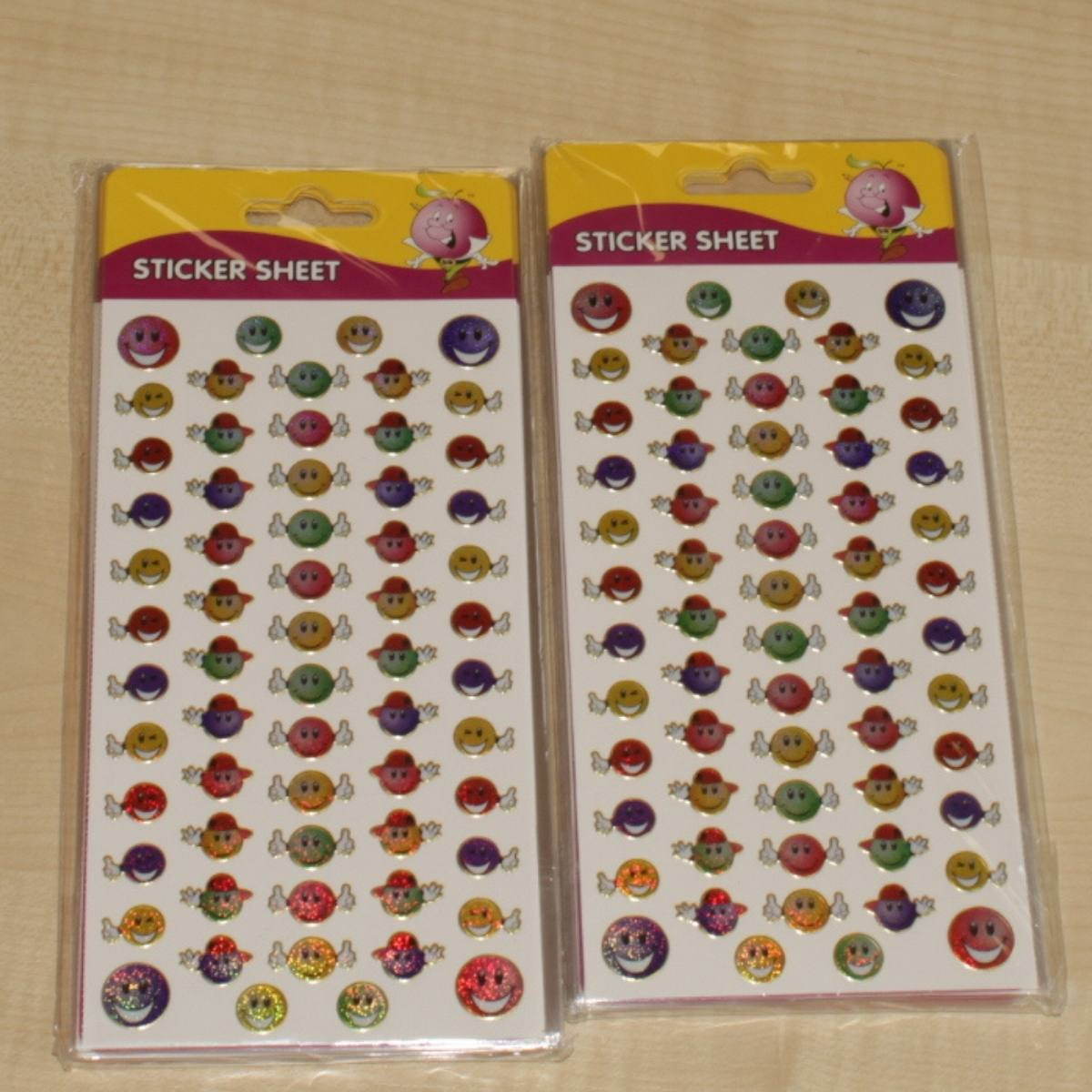 24 sheets of Reward Stickers
